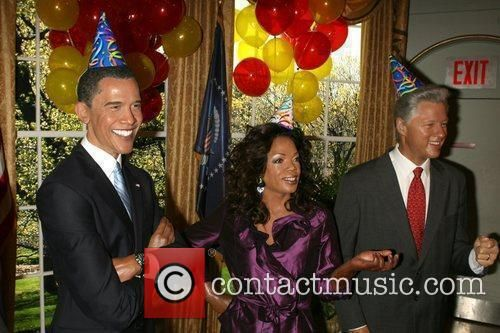 barack and oprah images for pinterest | Barack Obama - US President Barack Obama's 48th Birthday is celebrated with a party in the Oval ...