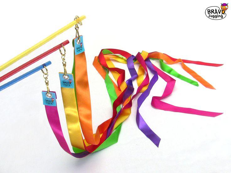 Bravo RibbonWand - from Bravo Juggling order: bravojuggling@gmail.com