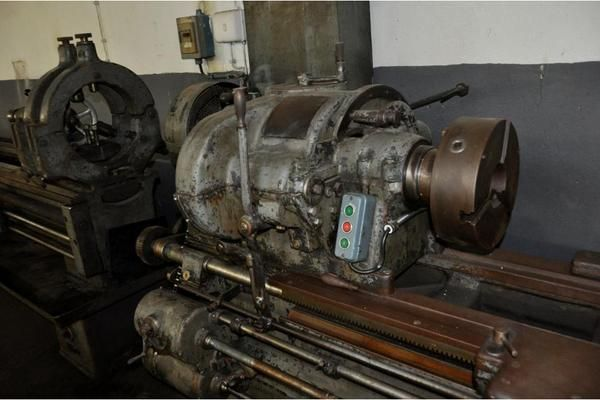 Drehbank Werkstatt Schlosserei » Geräte, Maschinen aus Lautertal .  Gebrauchte Drehbank kaufen