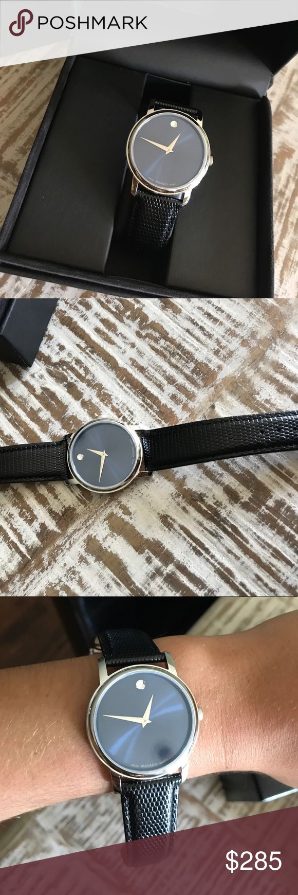 Brand new Movado watch Brand new Movado watch. Never worn. Just recently bought was given as a gift and they don't take returns. Movado Accessories Watches