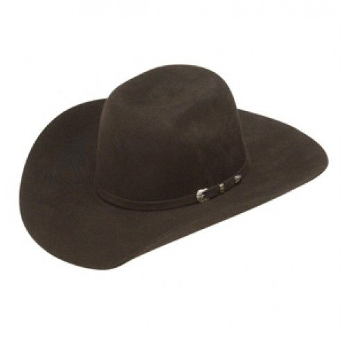 Kids Cowboy Hats Ariat Cool Hand Luke Chocolate  Kids Wool Felt Cowboy Hat