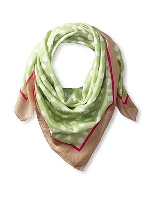 46% OFF Elizabeth Gillett Women's Rumi Scarf, Lime