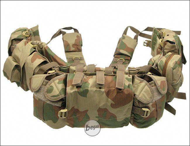 Multicam MOLLE Recon Vest w//Pouch Set 1//6 Scale Toy Special Combat Sniper