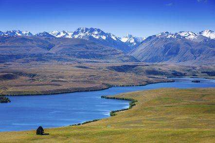 Mount Cook National Park - Suedinsel - Neuseeland