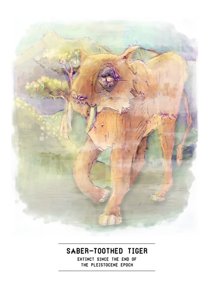 Extinct Series: Saber-toothed Tiger