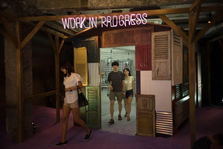 Hongdae: Very cool shop