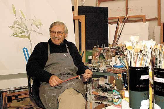 Pintor colombiano Santiago Cárdenas Arroyo