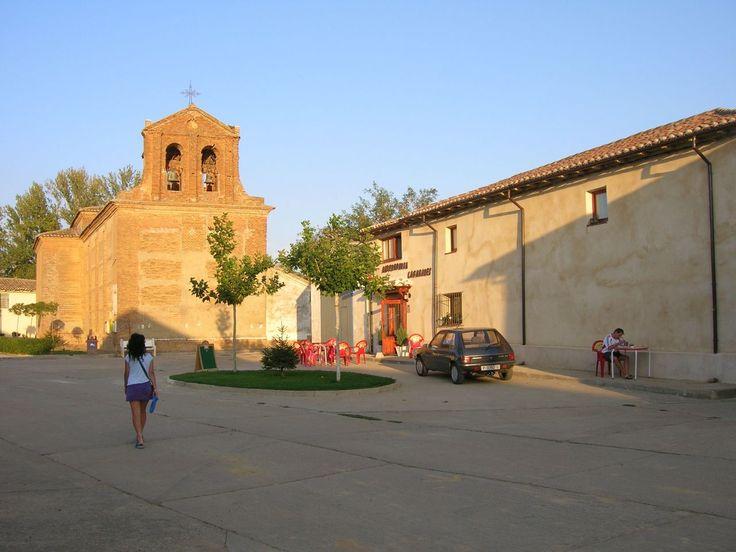 San Nicolás del Real Camino, Palencia, Camino de Santiago