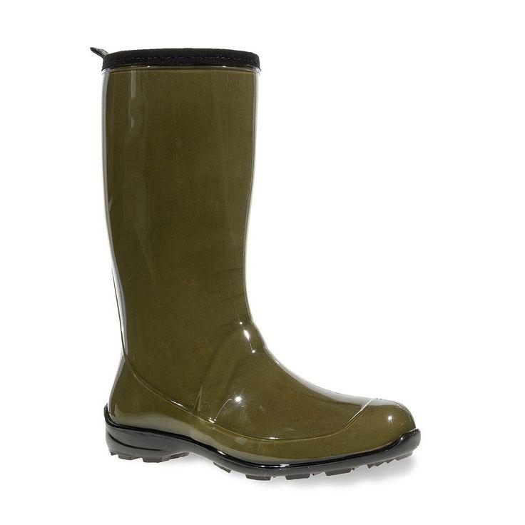 Kamik Heidi Women's Rain Boots, Size: 10, Green