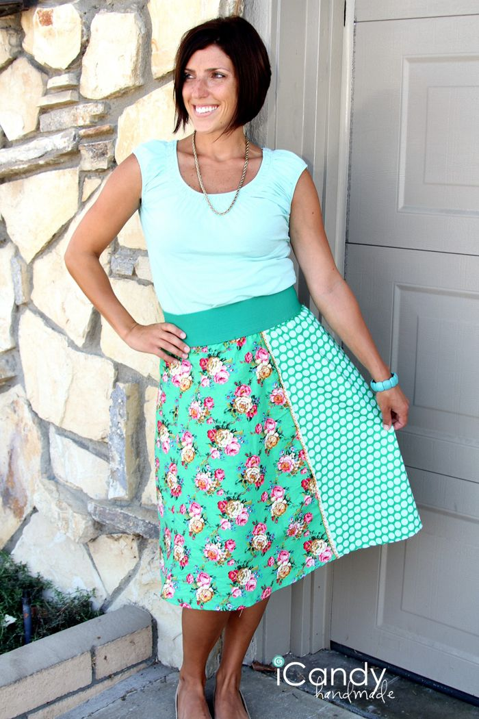 4quarters and Exposed Elastic Skirt Mashup: iCandy