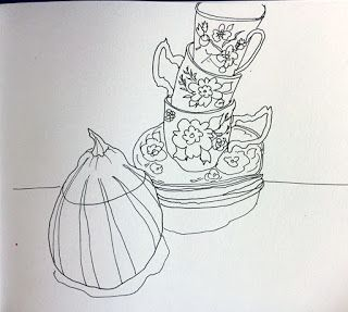 MHBD's Blog: Gourd and tea cups