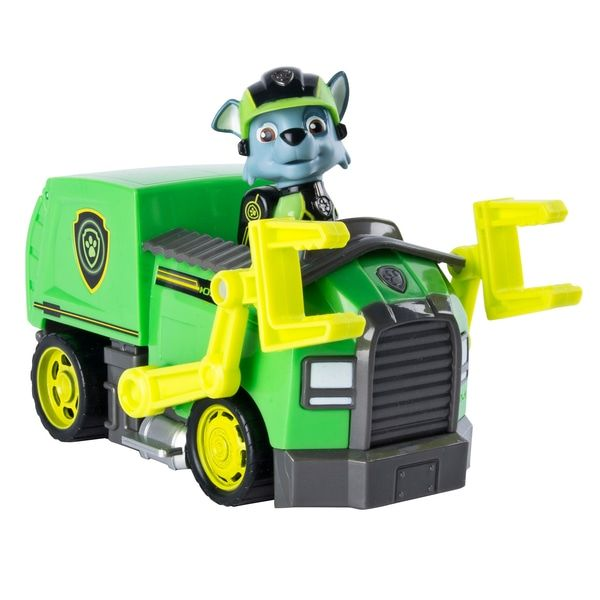 Rocky/'s Mission Recycling Truck Paw Patrol Paw Vehicle