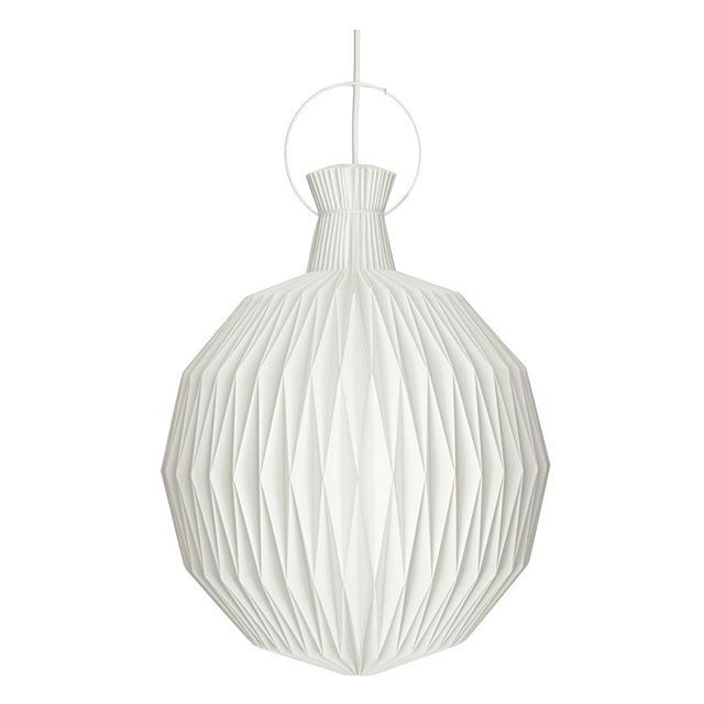 #Danish #Architect #KaareKlint designed the #interiors for his family's business #LeKlint when the first store opened in #Copenhagen in 1943.  #Klint designed the #LK101 or '#Fruitlamp' as a feature in the new store. It became their most popular #design, and it remains a top seller to this day.  The #lightshade is one of the most technical Le Klint #lights to produce. The #lantern was put into production in #1944, and is still manufactured using traditional hand folding techniques to create…