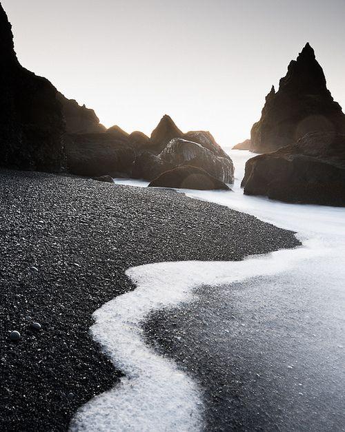 Reynisdrangar rocks, Iceland by Mats Berglund