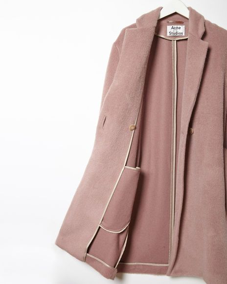 Acne Studios | Elga Wool Wrap Coat | La Garçonne