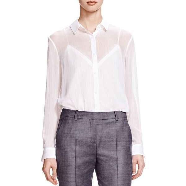 17 Best ideas about White Chiffon Blouse on Pinterest | Women's ...