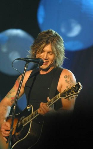 "John Rzeznik of The Goo Goo Dolls ""Let me whisper in your ear,  things I want to feel..."""