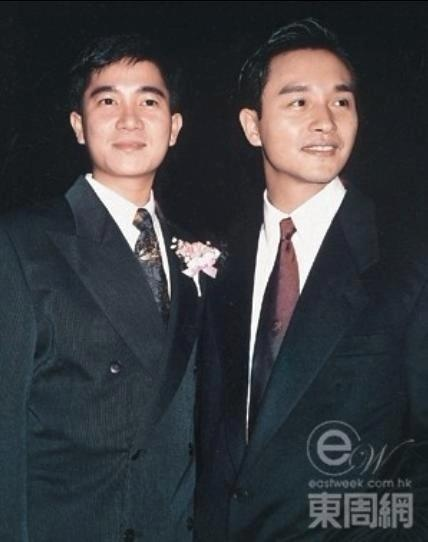 Danny Chan and Leslie Cheung, both Cantopop siingers and actors in the eighties. Danny died ten years before Leslie, in 1993; was in a coma for 17 months following drug overdose. Leslie, 2003, suicide.