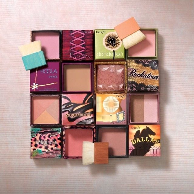 Eek! Benefit Box Blushes/Bronzer! Definitely in love with Hoola and Coralista like the rest of the world. Looking to try Dandelion next!