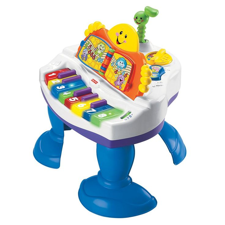 LAUGH & LEARN BABY GRAND PIANO Fisher Price - …