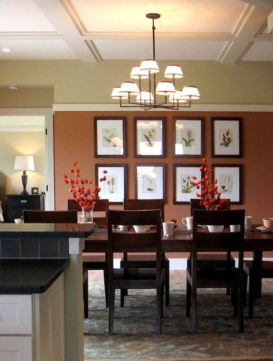 Amy Carman: Amy Carman Design    Inviting Arts & Crafts style dining room. Down to earth beauty, ...