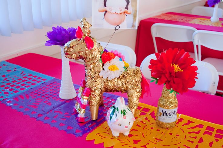 mexican mexican baptism fiesta baby shower ideas mexican baby shower