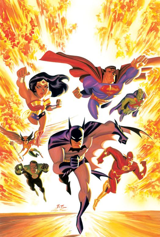 Comic Book Artist: Bruce Timm | Abduzeedo Design Inspiration & Tutorials