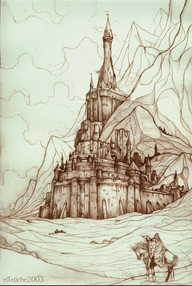 Minas Tirith by Felix Sotomayor