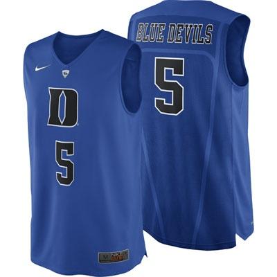 Duke Blue Devils Nike Hyper Elite Road Authentic ...