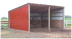 Storage Shed and Small Pole-Barn Plans:  Order gable or gambrel roof storage shed plans from 8x10 to 12x20. Shed-roof pole barns and open equipment or livestock loafing shed plans are available at from 10x12 to 15x24.  All of the plans allow for custom door and window placement. These inexpensive, instant-download plans are complete with all the drawings and material lists a do it yourselfer will need.