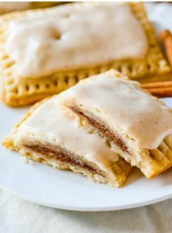 Homemade Frosted Brown Sugar Cinnamon Pop-Tarts    Everyone loves pop-tarts, but homemade ones are so much better than store-bought. Make a whole batch of utterly tasty pop-tarts that will make you never ever want to buy any. These homemade pop-tarts are made from scratch, but you won't face any difficulties making them, as the detailed recipe with step-by-step photos will make your […]  Continue reading...    The post  Homemade Frosted Brown Sugar Cinnamon Pop-Tarts  appeared first ..