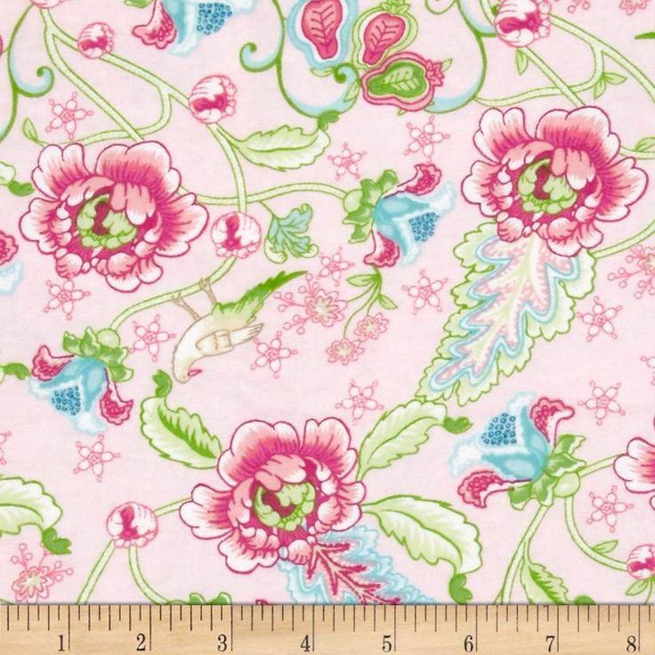 Cynthia's Dream Flannel Cynthia Pink from @fabricdotcom  Designed by Nadene…