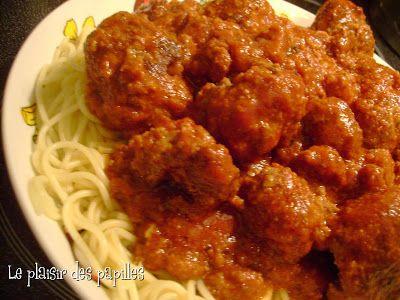 Le plaisir des papilles: ~Spaghettis et boulettes de viande du Chef Michael Smith~