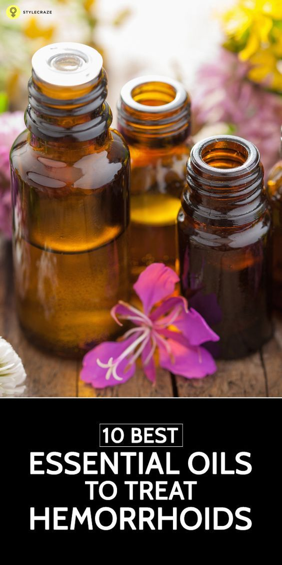 Hemorrhoids or 'Piles' can be such a pile on! So, how do you overcome this terrible condition? Here, we talk about some essential oils for hemorrhoid relief that might just help you.