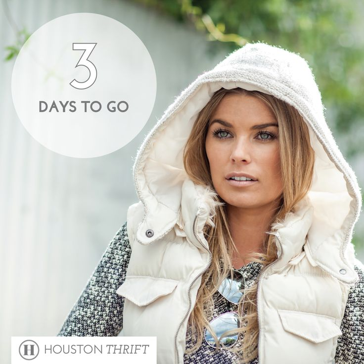 Countdown is on. 3 DAYS TO GO