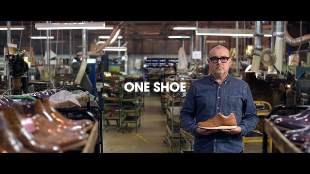 Sneaker brand New Balance and shoe maker Grenson have collaborated to create a premium leather sneaker; the Made in England 576GRB.