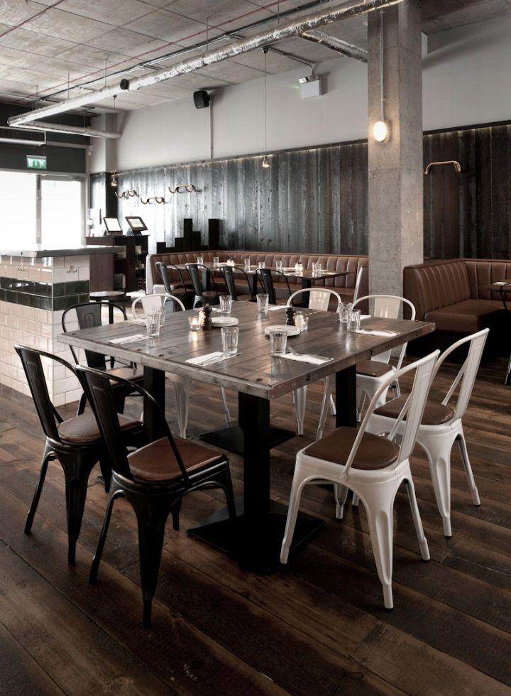 Coppi restaurant by terry design belfast northern ireland retail design blog