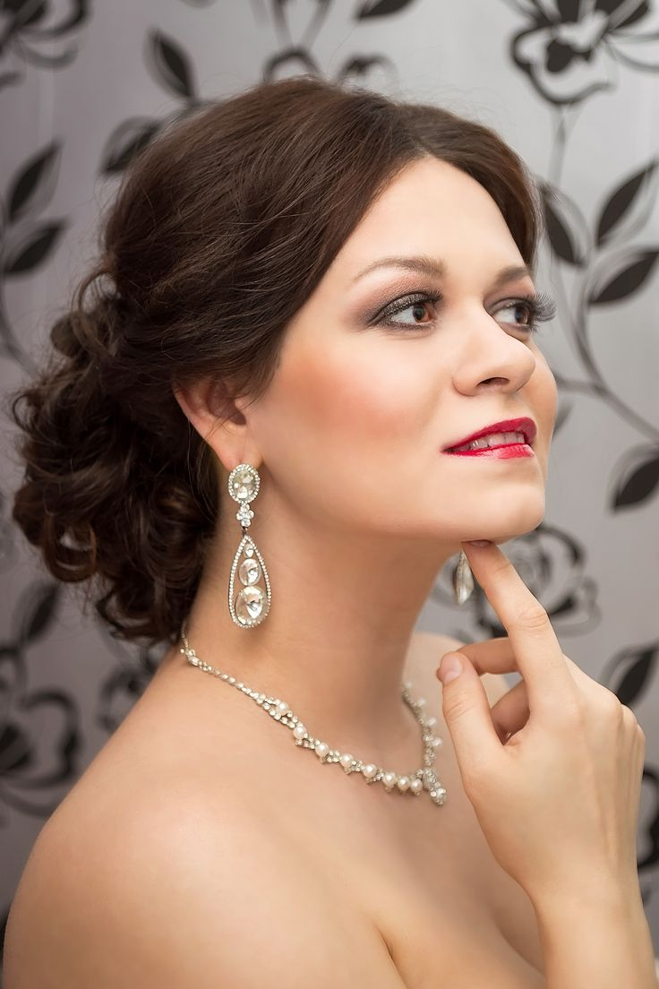 Великолепный стилист у великолепной женщины Стилист-визажист Субботина Ирина  +7 916 910 56 34 http://stylistnadom.ru/