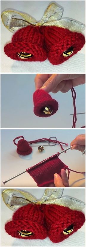 How To Knit Christmas Jingle Bells