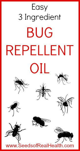 Super easy Bug Repellent Oil - this stuff works!