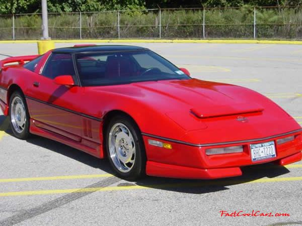 red corvette c4 | C4 Chevrolet Corvettes - 1986 Models