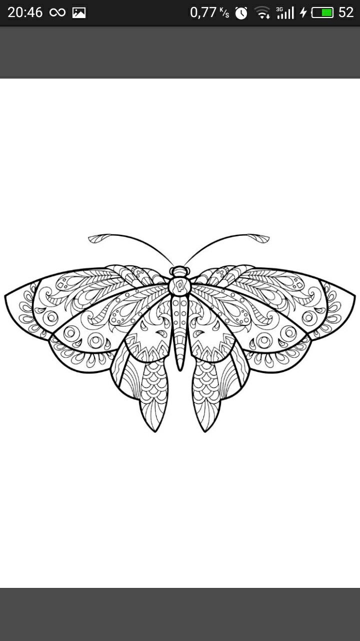 Pin By Tatyana Knyazeva On Mistectvo Zhivopisu In 2020 Butterfly Coloring Page Insect Coloring Pages Mandala Coloring