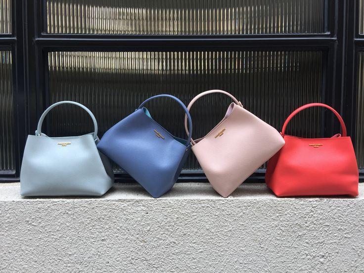 The hottest sustainable cross body bag.  #maudfrizon #spring #handbags #SS17 #parisian #chic #style #versatile #feminine #confidence #accessories #fashioninspiration #crossbodybag