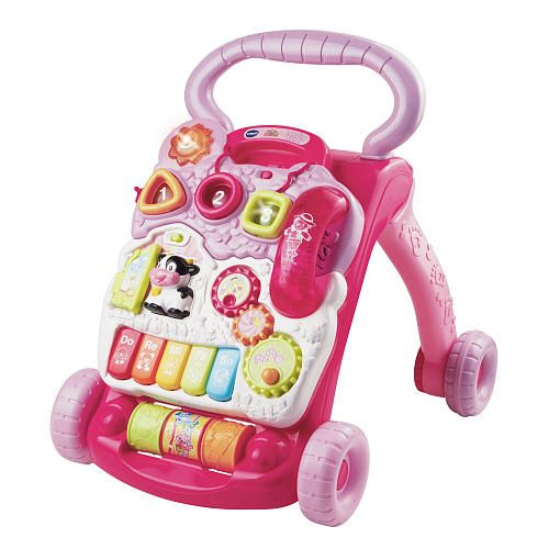 Vtech Sit-to-Stand Learning Walker - Pink. Nia Addison's 1st Christmas