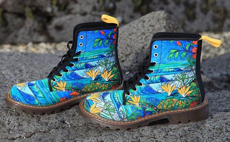 Ocean Garden Boots
