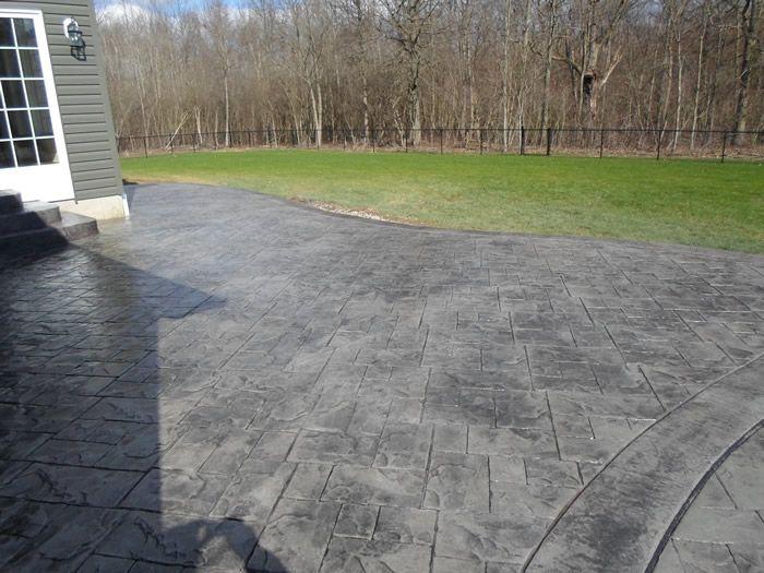 Patios Amp Walkways Gallery Real Help Custom Concrete Company Buffalo New York Concrete Patio