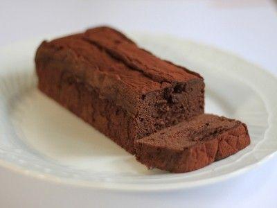 バレンタインに贈る生チョコレートケーキ