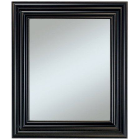 Carriage House Black Wall Mirror