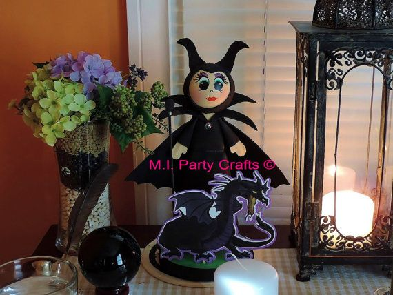 Maleficent cake topper dragon  $25