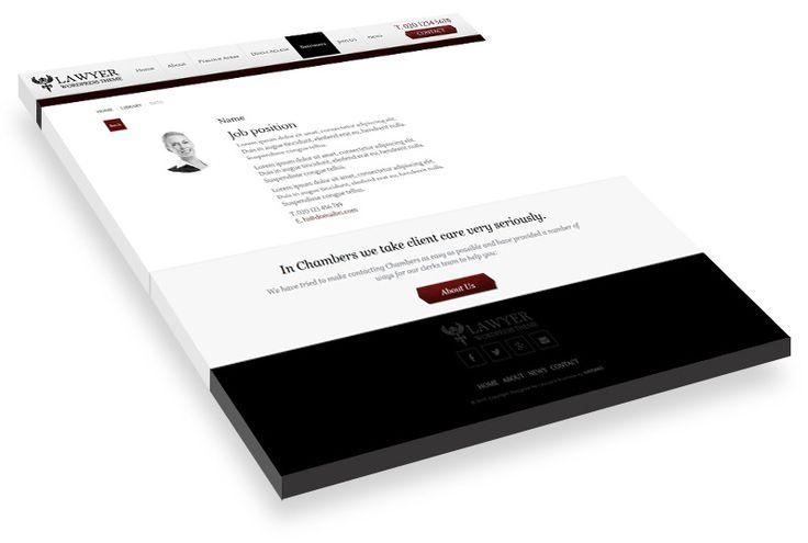 Lawyer WordPress Theme | WordPress Designer